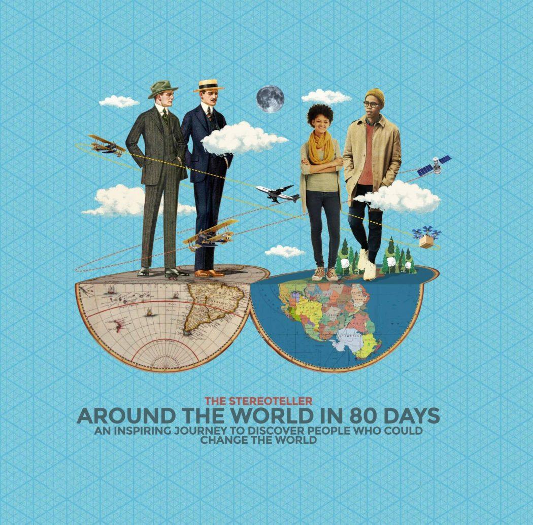 Phileas Fogg digitali e la ricerca della creatività intorno al mondo. In 80 giorni.
