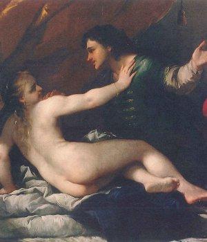Luca Giordano Tarquinio e Lucrezia, 1663 ca. olio su tela, 97,4 x 96,2 cm