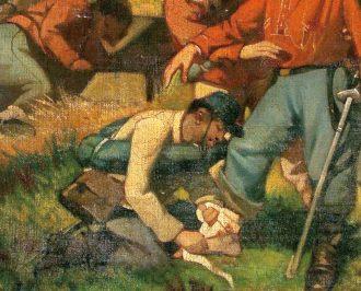 Garibaldi fu ferito.<br/>E quella ferita salvò l'Italia