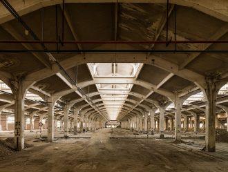 Gli spazi dell'ex Ceramica Vaccari nell'obiettivo di Luca Lupi