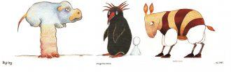 Altan-Benni e le storie semiserie di finti animali e dinosauri estinti