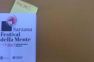 """Appunti disordinati <br> dal """"mio"""" Festival della Mente"""