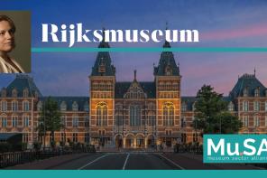 Rijksmuseum. <br> La parola chiave è condivisione
