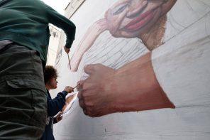 st.a.rt e l&#8217;arte sulle mura delle città. <br> l&#8217;origine delle domande. <br>la bellezza delle risposte