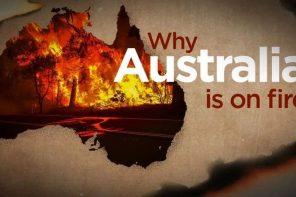 Ecco perché<br>l'Australia sta bruciando