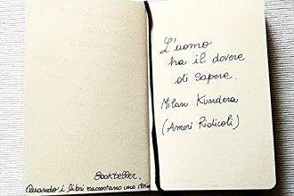 Passeggiando con Kundera