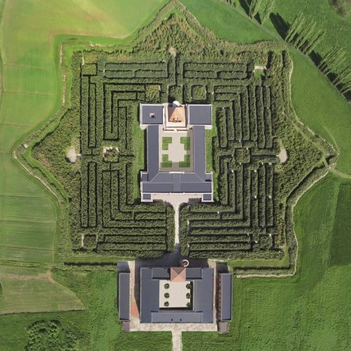Labirinto visto dall'alto
