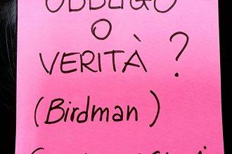 Il professor Renzi e la lezione di Birdman