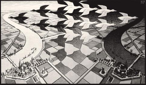 Le costruzioni impossibili di Escher arrivano a Catania