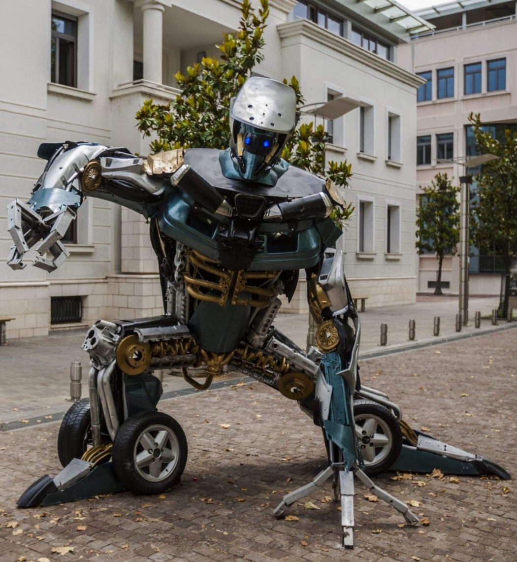 L'arte all'epoca dei Transformers