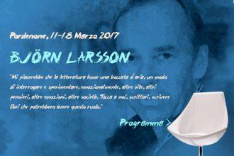 "5 buoni motivi per ""Dedicarsi"" a Björn Larsson"