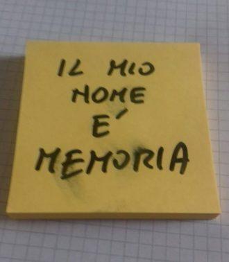 Mi ricordo, si mi ricordo.  <br>La memoria diventa impresa creativa