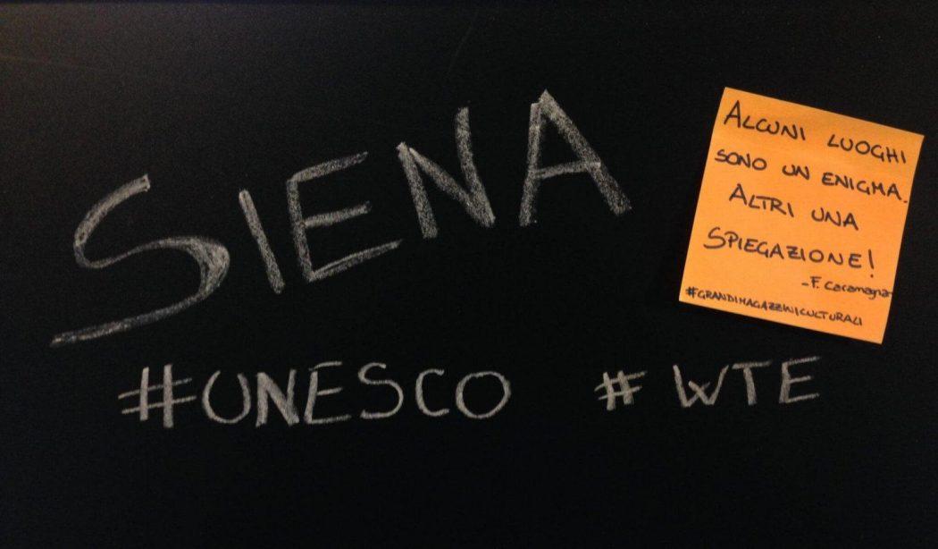 Il WORLD TOURISM EVENT A SIENA <br>PER SCOPRIRE LE MERAVIGLIE UNESCO