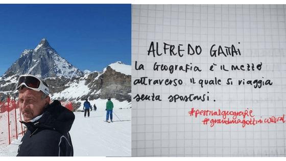 ALFREDO GATTAI<br>LA GEOGRAFIA è CONDIVISIONE