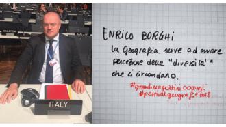 Enrico Borghi<br>Una Geografia per allargare gli orizzonti