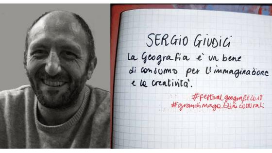 SERGIO GIUDICI<br> UNA GEOGRAFIA CREATIVA