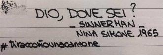 Sinnerman <br> #tiraccontounacanzone