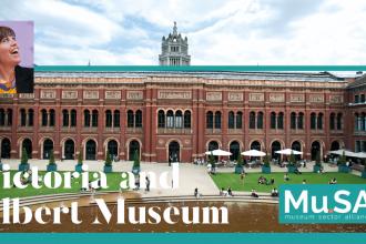 Victoria and Albert Museum. <br> La volontà di investire nel digitale