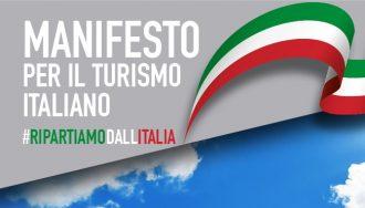 #RIPARTIAMODALLITALIA: IL MANIFESTO PER IL TURISMO ITALIANO