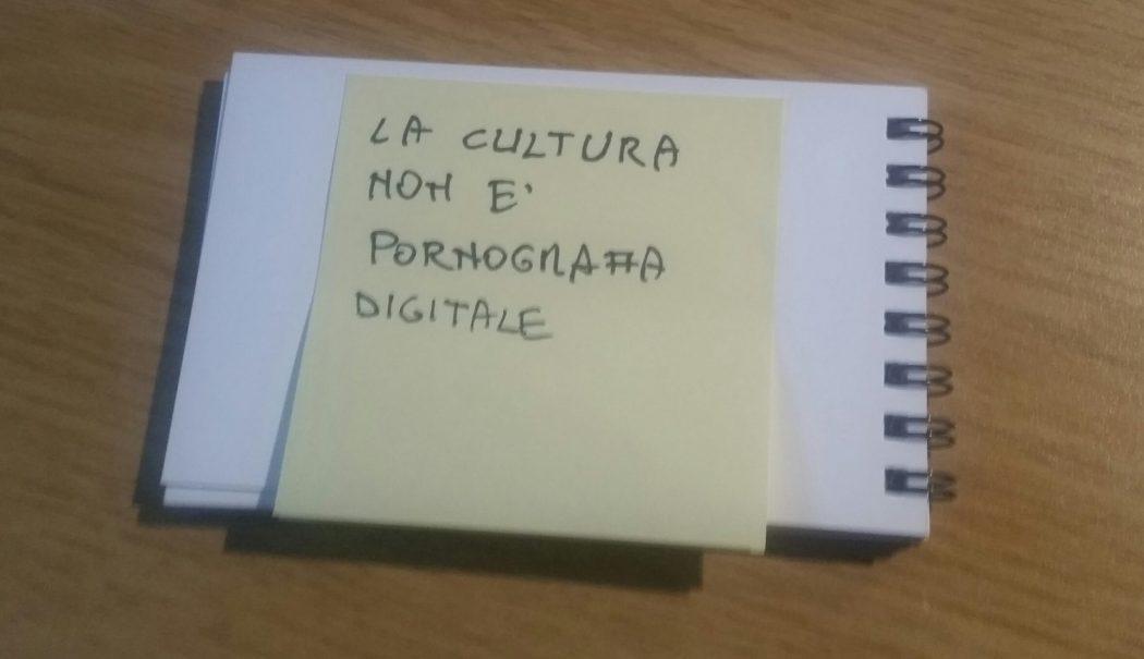 Il Covid19, la fase 2 e la pornografia digitale della Cultura