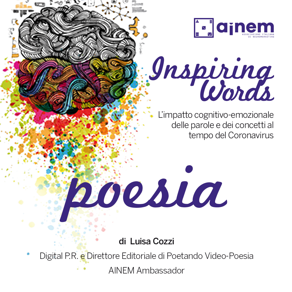 Inspiring Words. 11 - 17 maggio