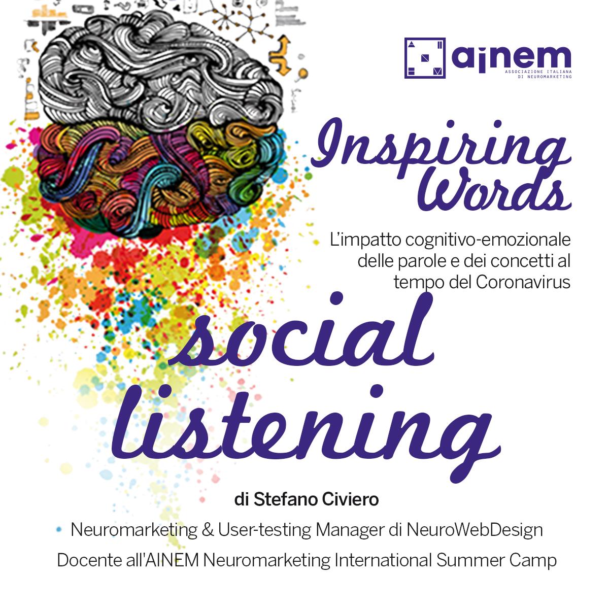 Inspiring Words. 4 - 10 maggio
