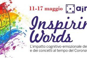 Inspiring Words. 11 – 17 maggio