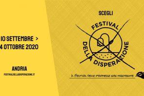 Benvenuti al Festival della Disperazione