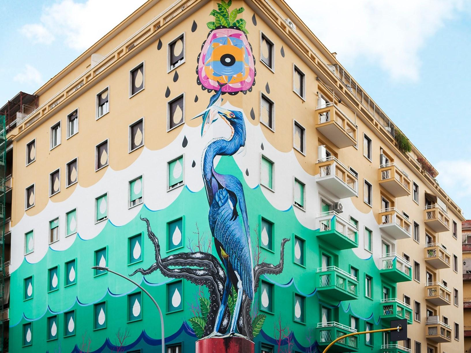 Street Art e Ambiente: l'imprenditoria italiana green fa scuola in Nord Europa