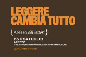 Arezzo dei lettori: due giorni dedicati ai libri e alla lettura