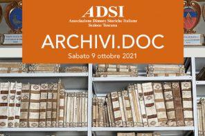 Il turismo delle dimore storiche: la prima edizione di Archivi.doc